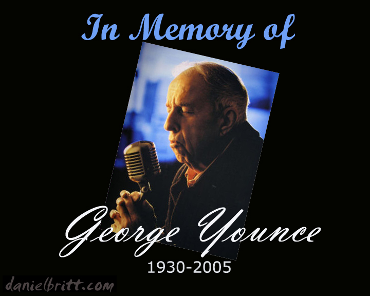 In Memory of George Younce. Click to download  an mp3 interview with George Younce.